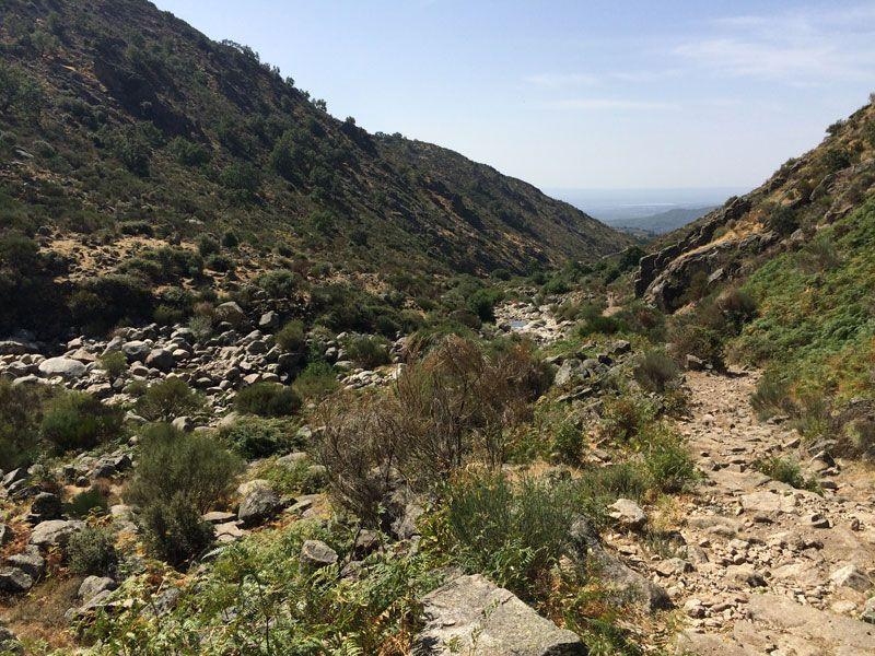 Paisajes de la ruta del Trabuquete