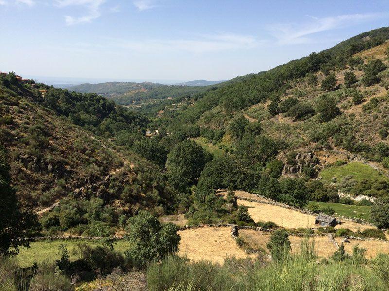 Ruta del trabuquete - Paisaje de la ruta de Senderismo del Trabuquete
