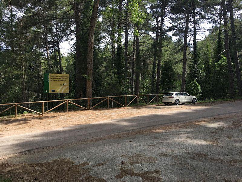 Ruta de senderismo Las Acebeas - Navalperal - Zona para dejar el coche en Las Acebeas