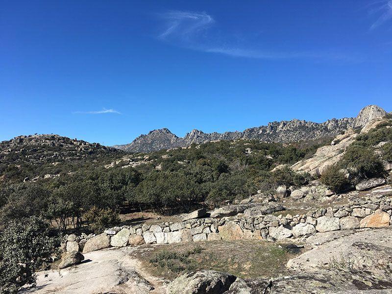 Ruta de senderismo Usos y Oficios Tradicionales - La Cabrera - Madrid - Paisajes