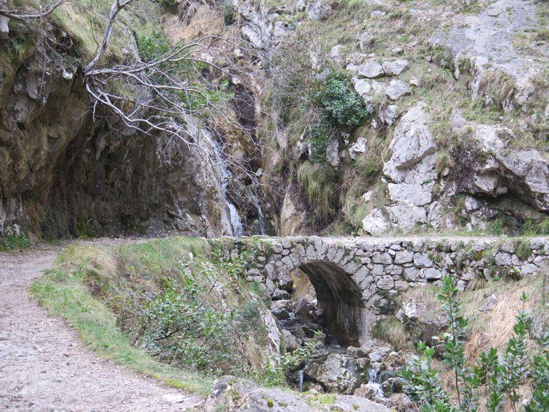 Puente de Los Rebecos en la Ruta del Cares