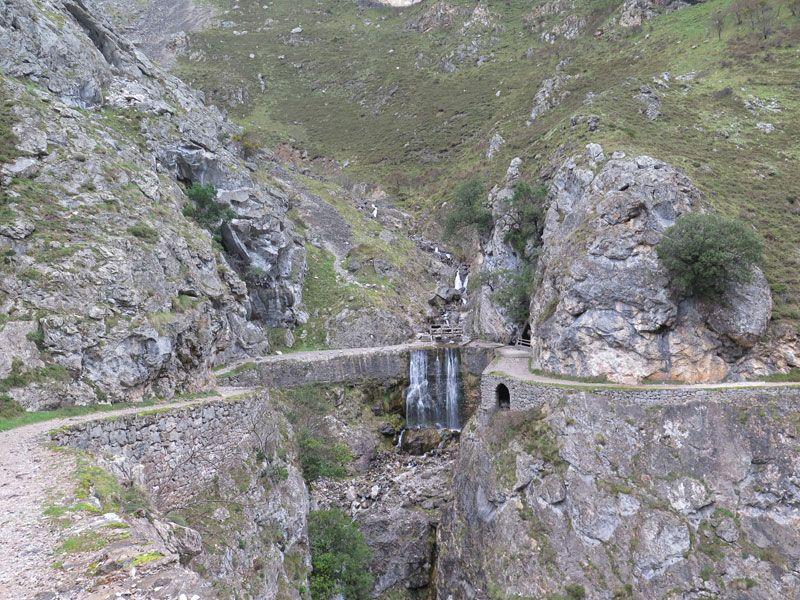 Puente El Bolín, en la Ruta del Cares