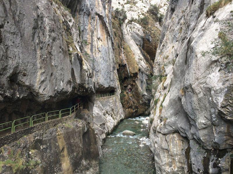 Balconcito al río Cares de la Ruta del Cares