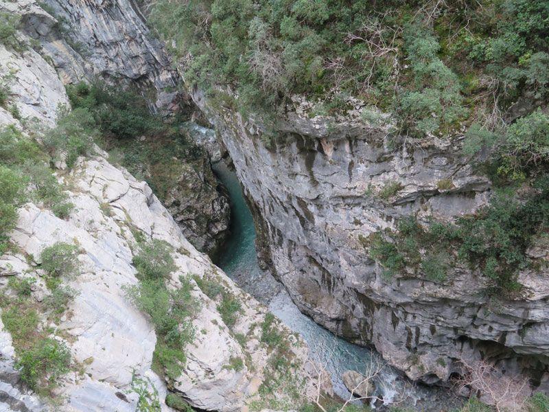 Las aguas tuquesa del río Cares - Ruta del Cares