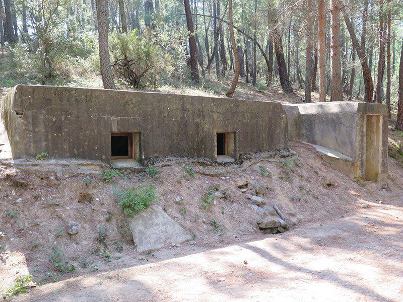 Ruta Frente del Agua - Paredes de Buitrago - Madrid - Centro de mando nacional