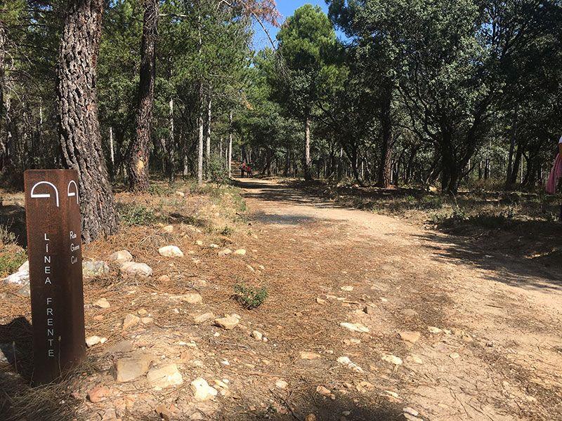 Ruta Frente del Agua - Paredes de Buitrago - Madrid - Línea de Frente