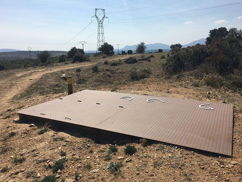 Ruta Frente del Agua - Paredes de Buitrago - Madrid - Refugio subterráneo nacional