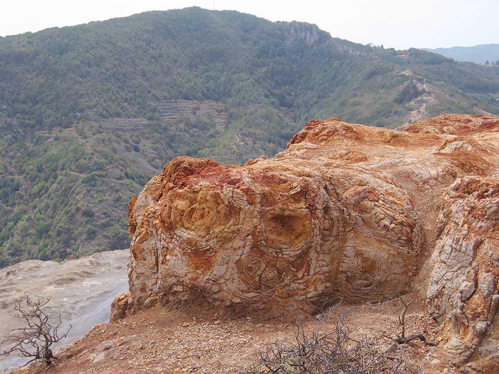 Montaña El Cepo en La Gomera