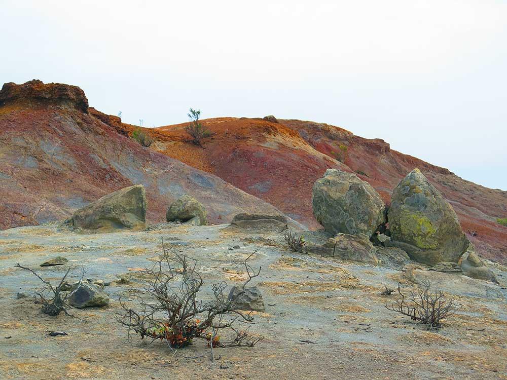 Montaña Roja de La Gomera