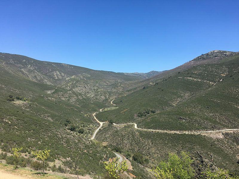 Rutas y pueblos del Embalse del Atazar - Panorámica de la sierra