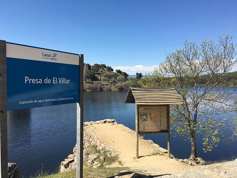 Rutas y pueblos del Embalse del Atazar - Mirador de la presa El Villar
