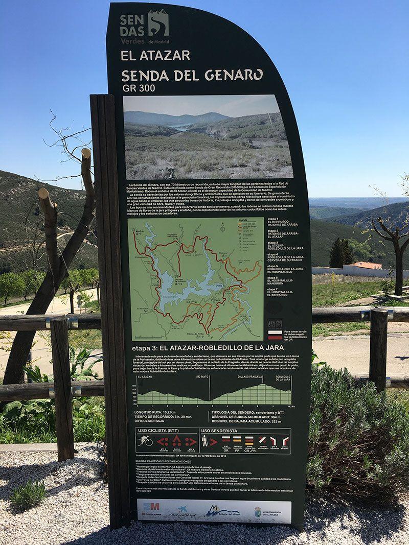 Rutas y pueblos del Embalse del Atazar - Senda del Genaro