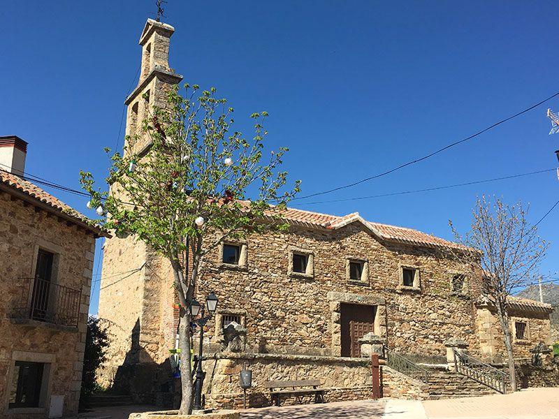 Rutas y pueblos del Embalse del Atazar - Iglesia de Serrada de la Fuente