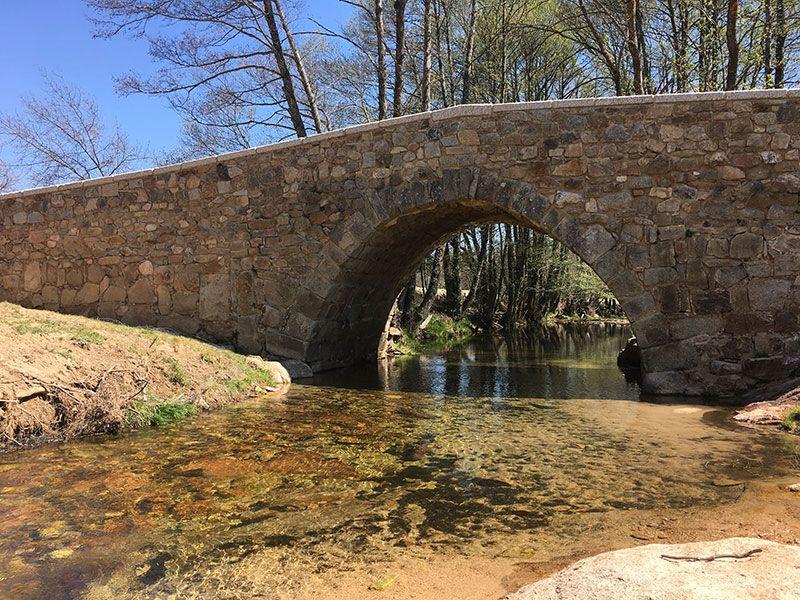 Rutas y pueblos del Embalse del Atazar - Puente Romano
