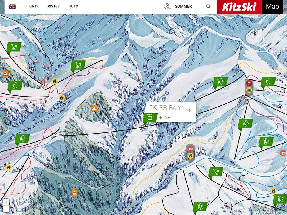 Esquiar en Kitzbühel - S3 Bahn