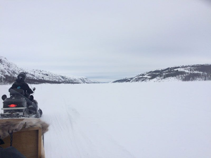Safari de cangrejo real en Noruega - Lago