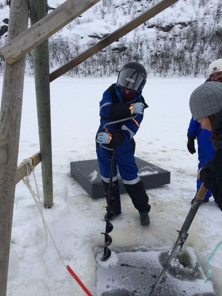 Safari de cangrejo real en Noruega - Rompiendo el hielo