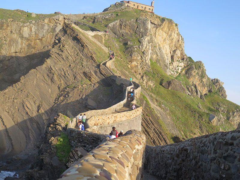 San Juan de Gaztelugatxe - escalerita