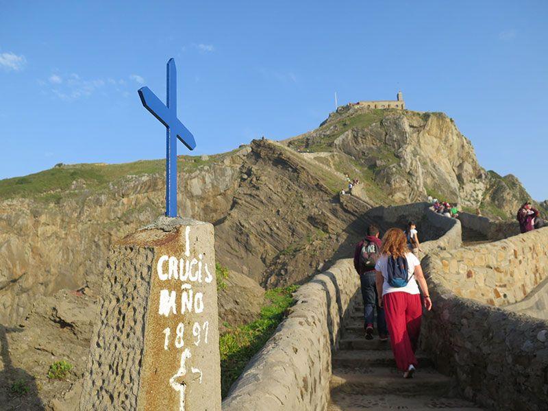 San Juan de Gaztelugatxe - I Crucis