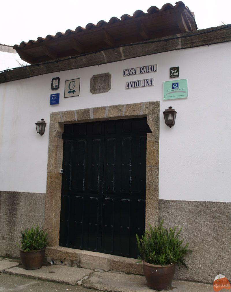 Casa Antolina en San Martín de Trevejo