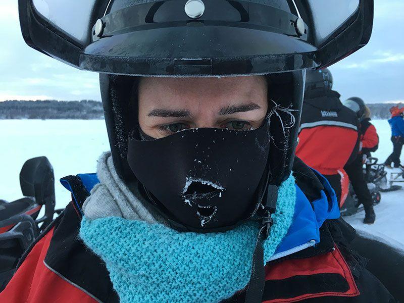 Un día inmersas en Laponia Finlandesa - Bien abrigadas para no congelarnos
