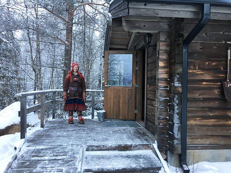 Un día inmersas en Laponia Finlandesa - Paivi