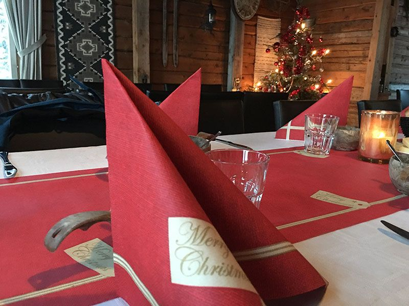 Un día inmersas en Laponia Finlandesa - Decoración navideña