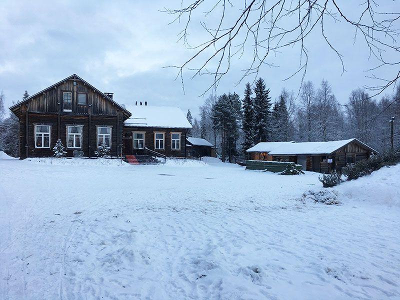Un día inmersas en Laponia Finlandesa - Granja de renos