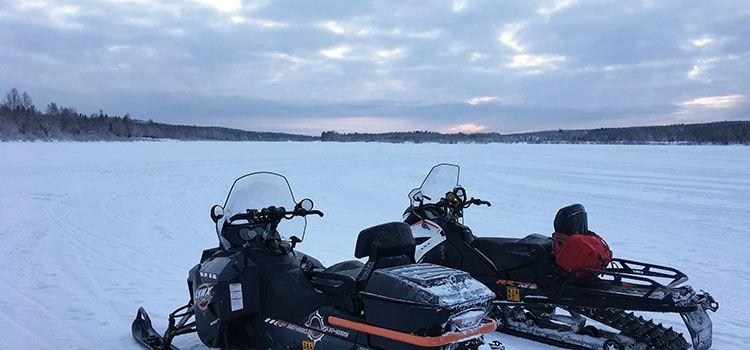 Un día inmersas en Laponia Finlandesa