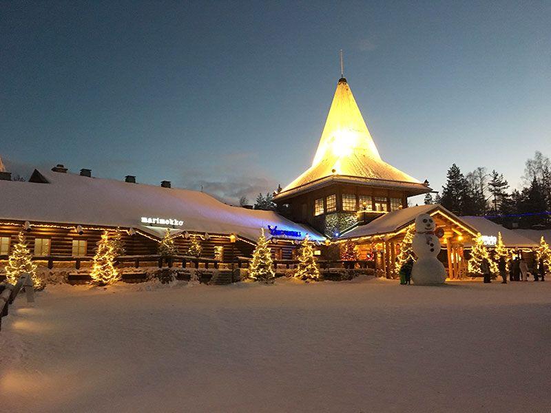 Un día inmersas en Laponia Finlandesa - Santa Claus Village