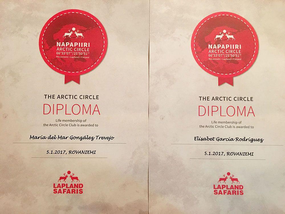 Santa Claus Village - Rovaniemi - Diplomas