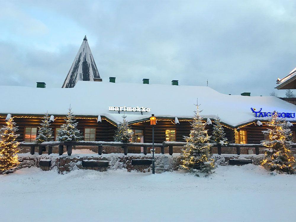 Santa Claus Village - Rovaniemi - Tienda de Marimekko
