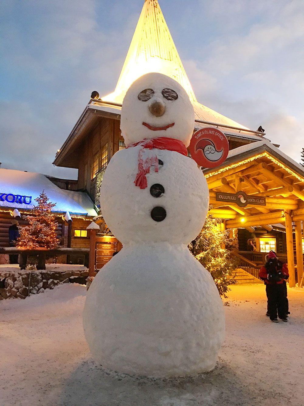 Santa Claus Village - Rovaniemi - Muñeco de nieve