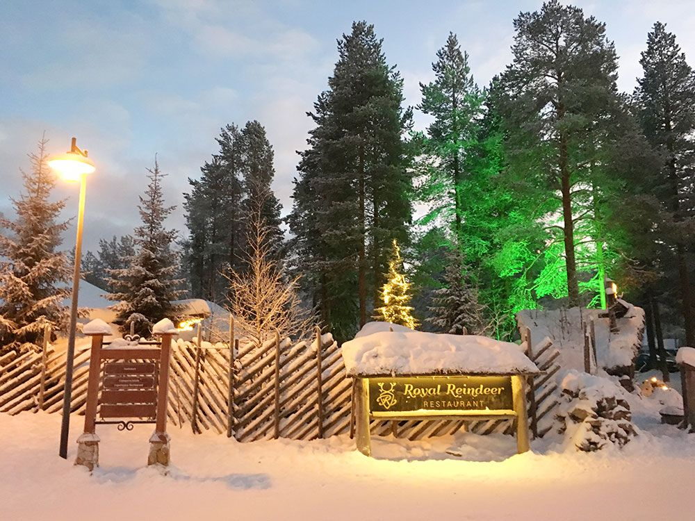 Santa Claus Village - Rovaniemi - Royal Reindeer Restaurant