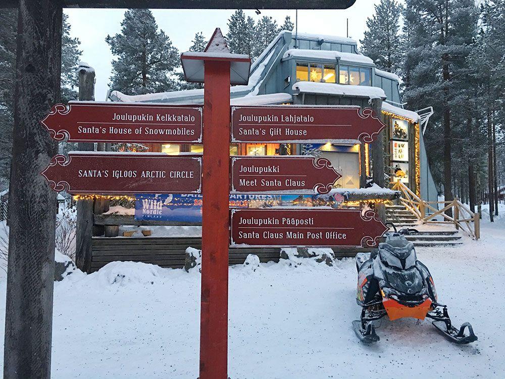 Santa Claus Village - Rovaniemi - Señalizaciones