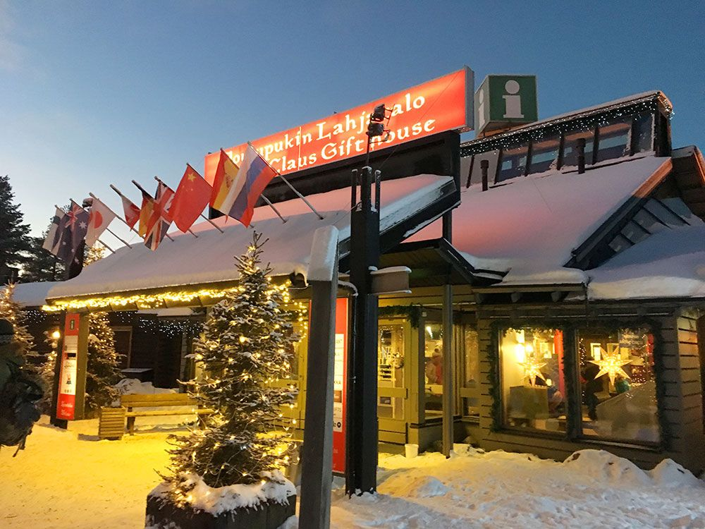 Santa Claus Village - Rovaniemi - Tienda de regalos