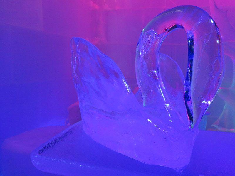 Santa Park - Cueva de los elfos de Papa Noel - Rovaniemi - Galería de hielo