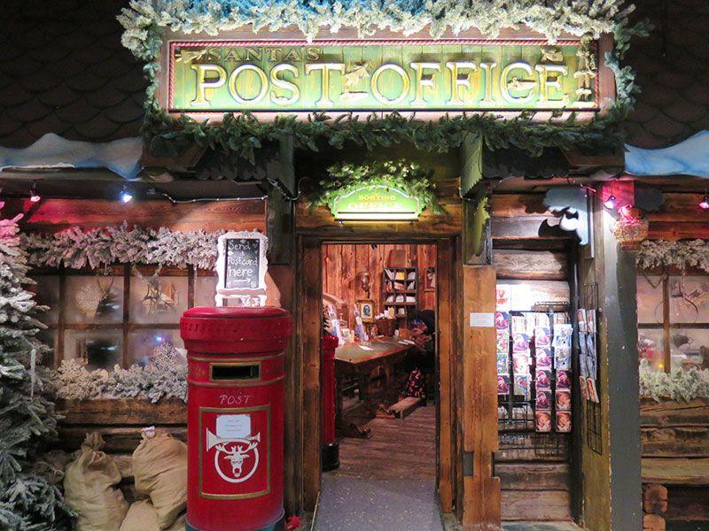 Santa Park - Cueva de los elfos de Papa Noel - Rovaniemi - Oficina de correos