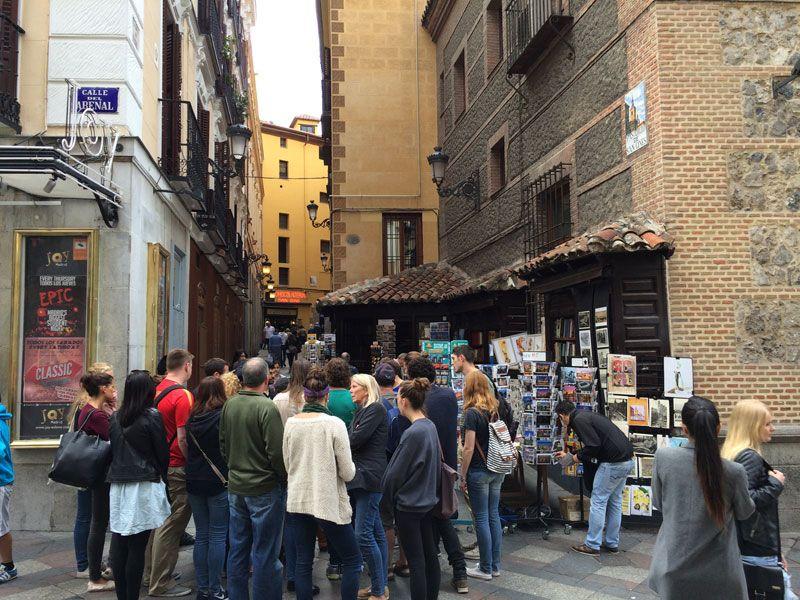 Segway Madrid - Cafetería San Ginés