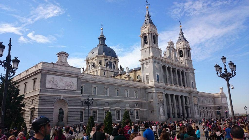 Segway Madrid - Catedral de La Almudena