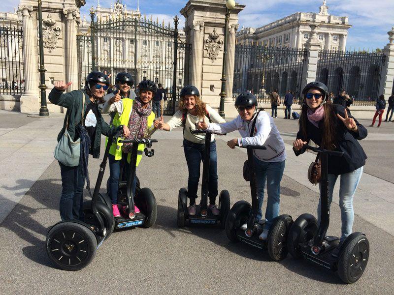 Segway Madrid - Todos en el Palacio Real