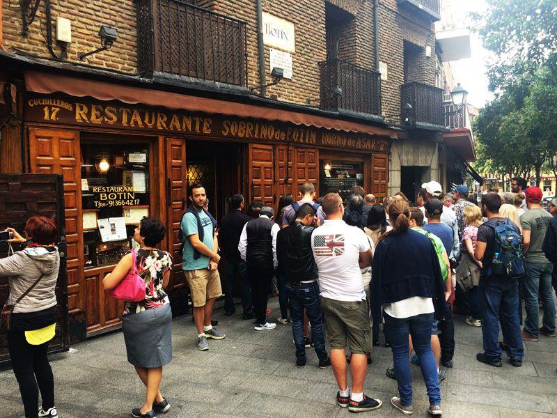 Segway Madrid - Restaurante sobrino de Botín