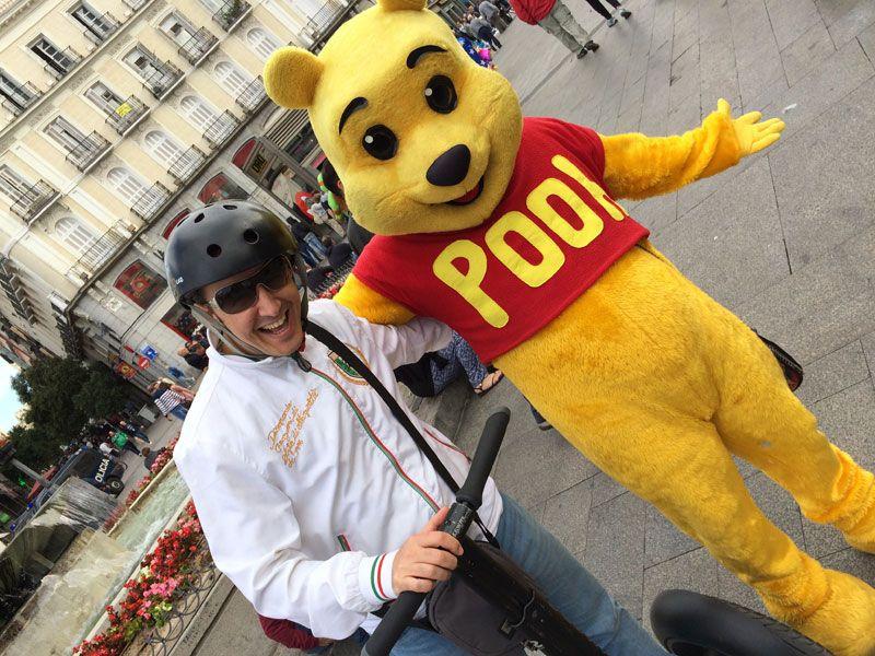 Segway Madrid - Winnie de Pooh