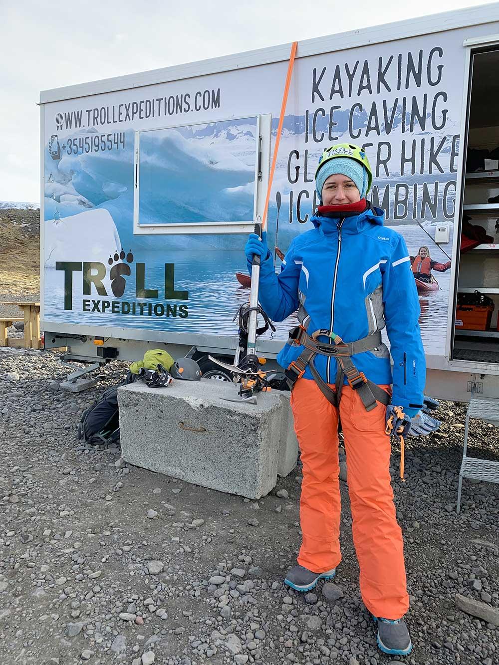 Senderismo por glaciares en Islandia - Sólheimajökull - Preparadas
