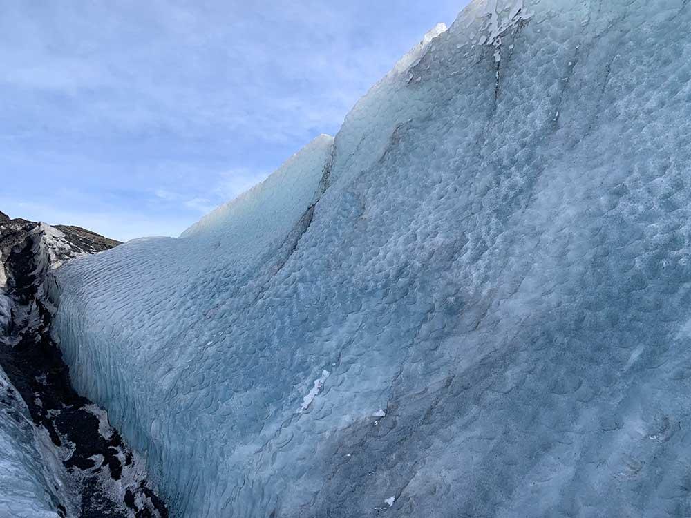 Senderismo por glaciares en Islandia - Sólheimajökull - Hielo