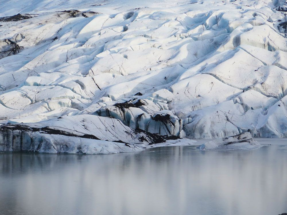 Senderismo por glaciares en Islandia - Sólheimajökull - Laguna