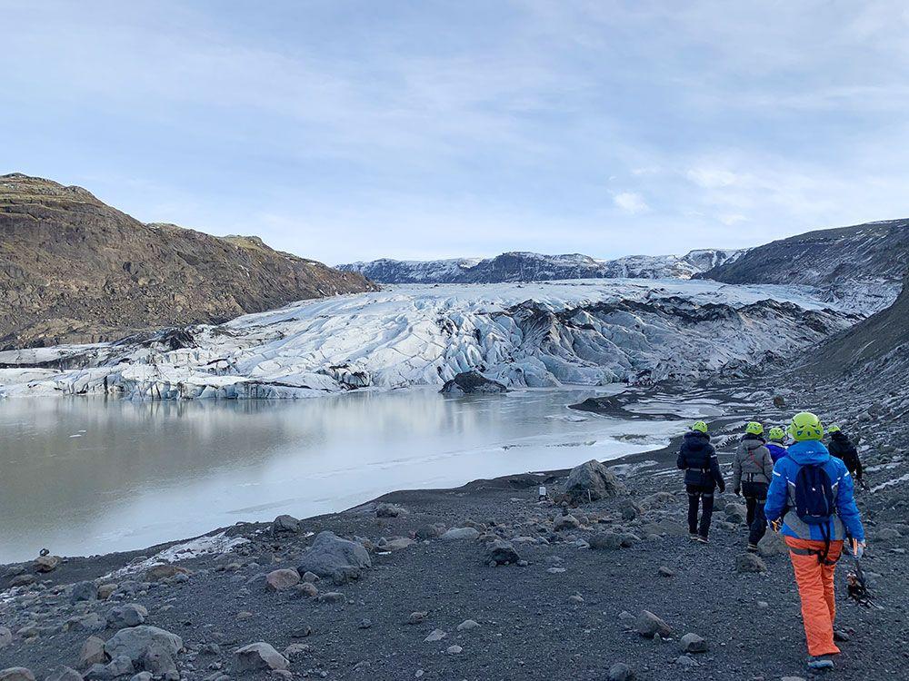 Senderismo por glaciares en Islandia - Sólheimajökull - Primera etapa
