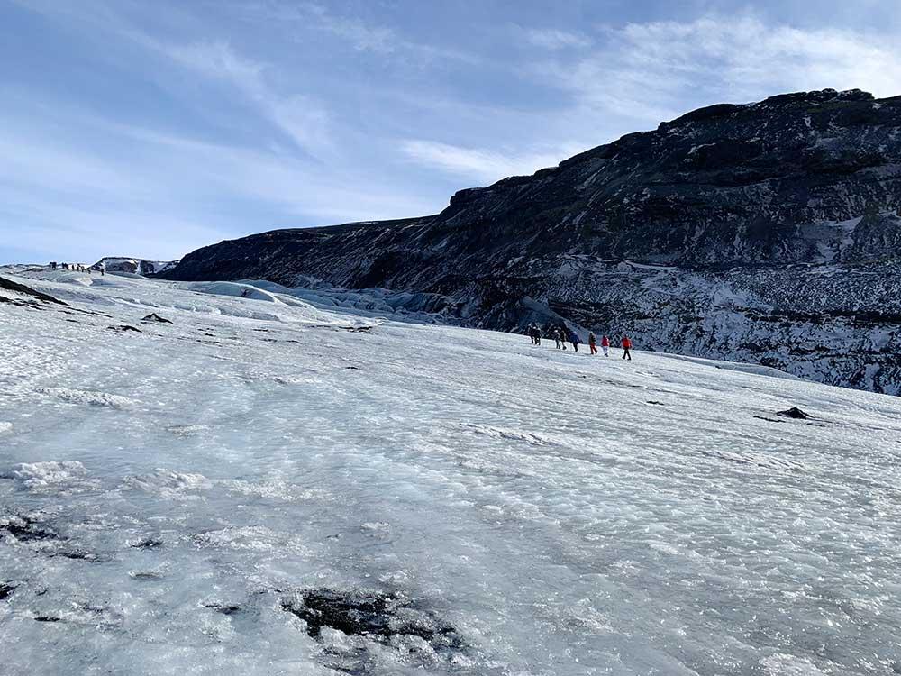Senderismo por glaciares en Islandia - Sólheimajökull - Ascenso