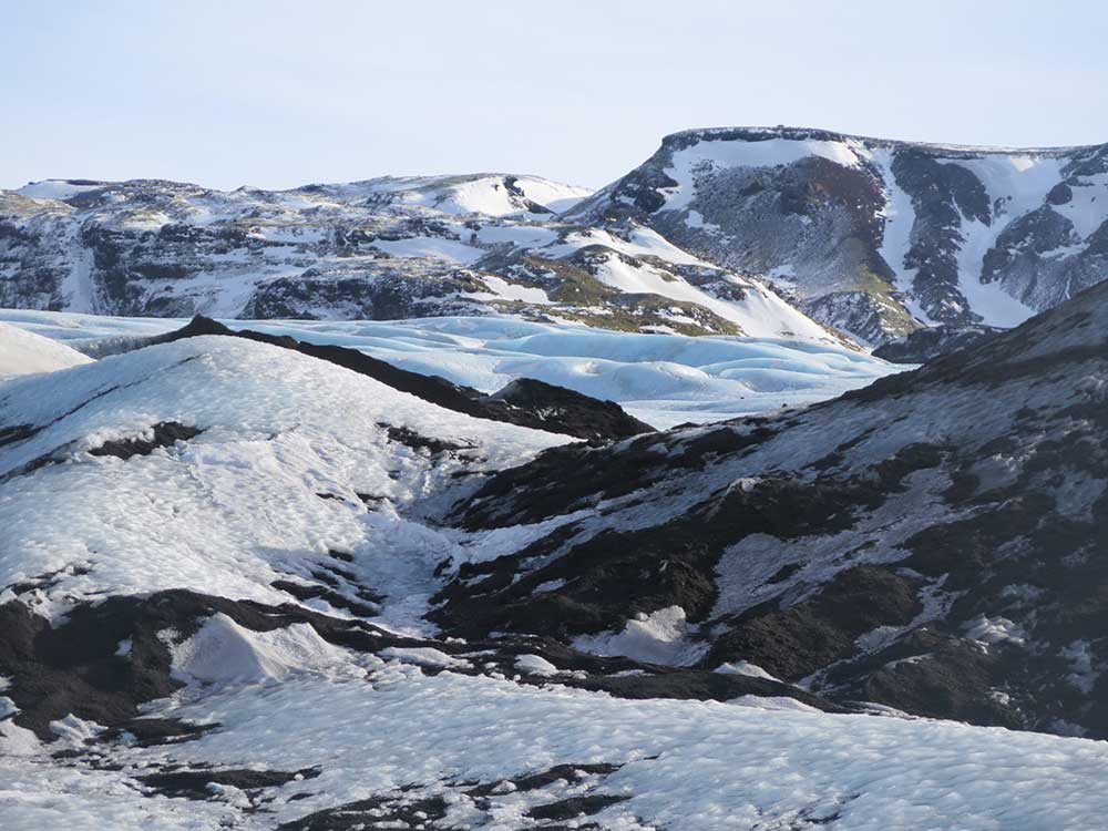 Senderismo por glaciares en Islandia - Sólheimajökull - Paisajes