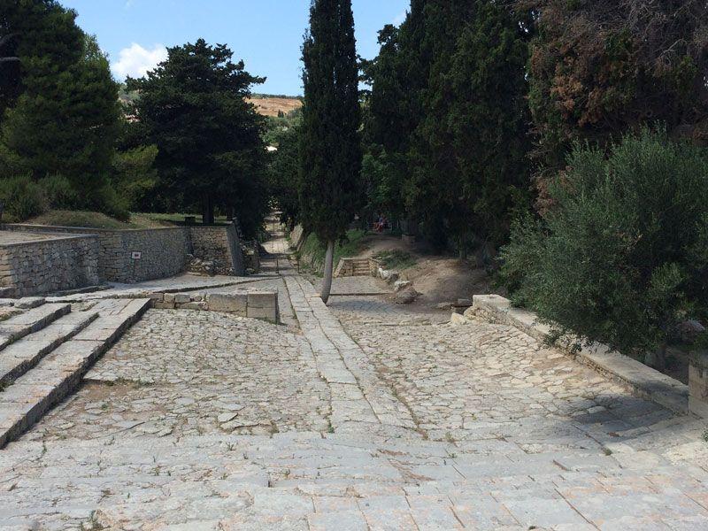 Palacio de Knossos - Primer sendero registrado e nuestra historia